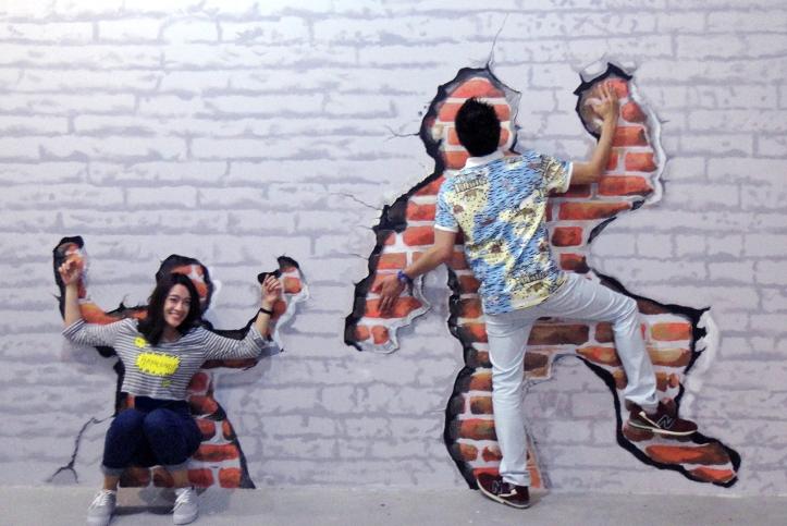 สถานที่ท่องเที่ยวแห่งใหม่ของหัวหิน For Art's Sake ภาพโซน Realistic และ Street Art จ.ประจวบคีรีขันธ์