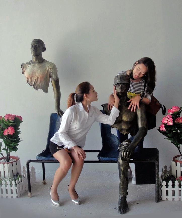 สถานที่ท่องเที่ยวแห่งใหม่ของหัวหิน For Art's Sake พิพิธภัณฑ์ภาพ 4 มิติ จ.ประจวบคีรีขันธ์ : โซน Installation Art