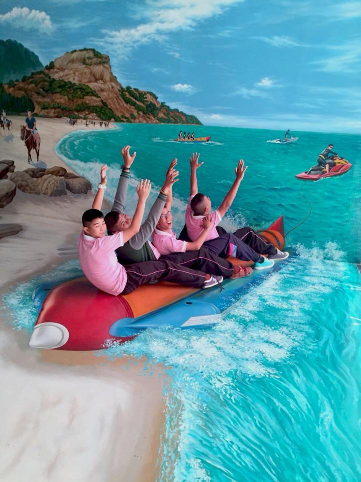 มาเที่ยวทะเลทั้งที  ต้องไม่ลืมเล่น Banana Boat ^^