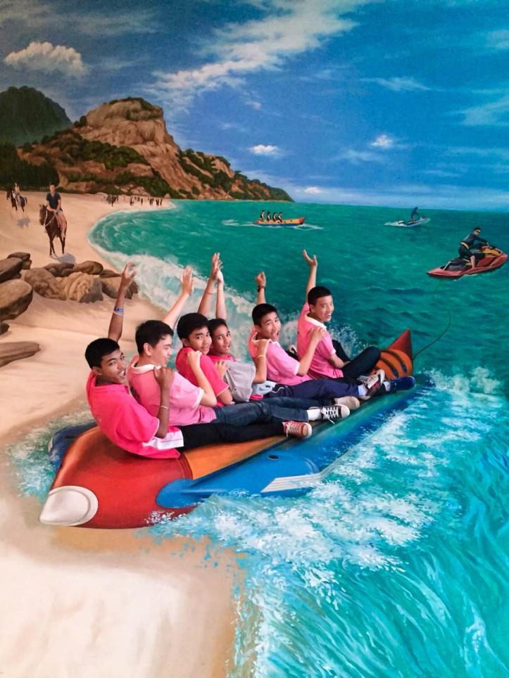 ภาพความสนุกสนานจากน้อง ๆ นักเรียน ร.ร.หาดใหญ่วิทยาลัยสมบูรณ์กุลกันยา