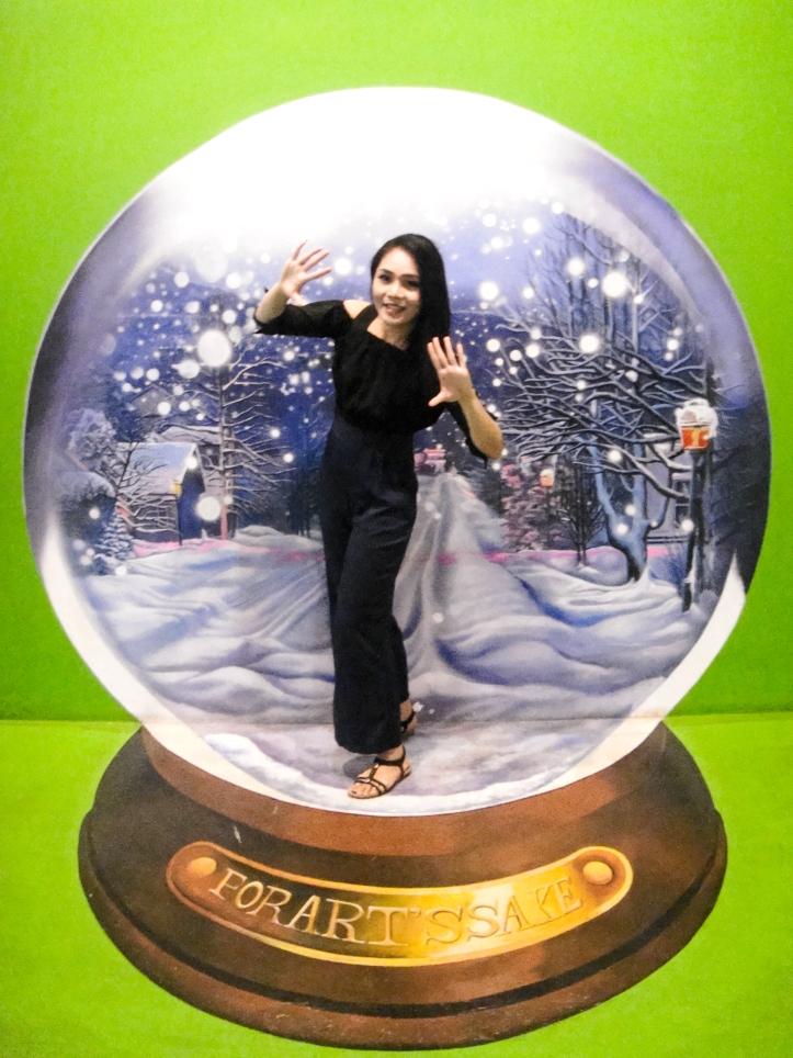 สาวสวยในเมืองหิมะ Snow Globe