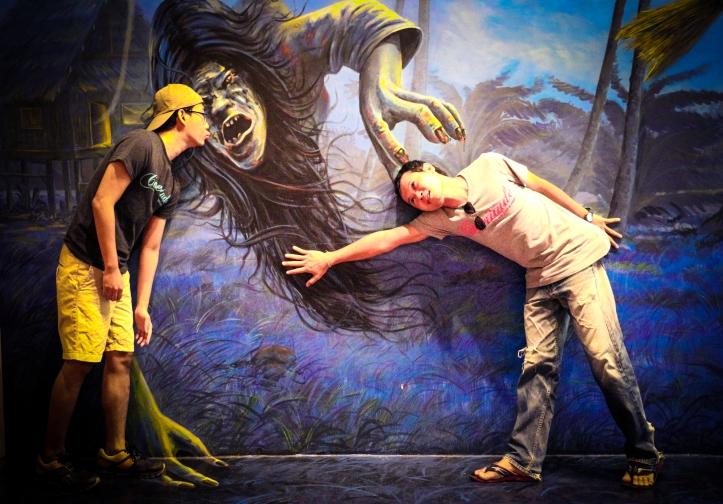 Horror Zone Painting Art Museum, Hua Hin