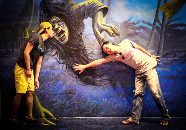 Horror Zone Painting Art Museum, Hua Hin