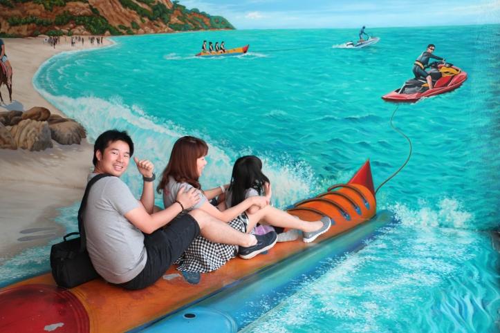 Banana Boat Interactive Art