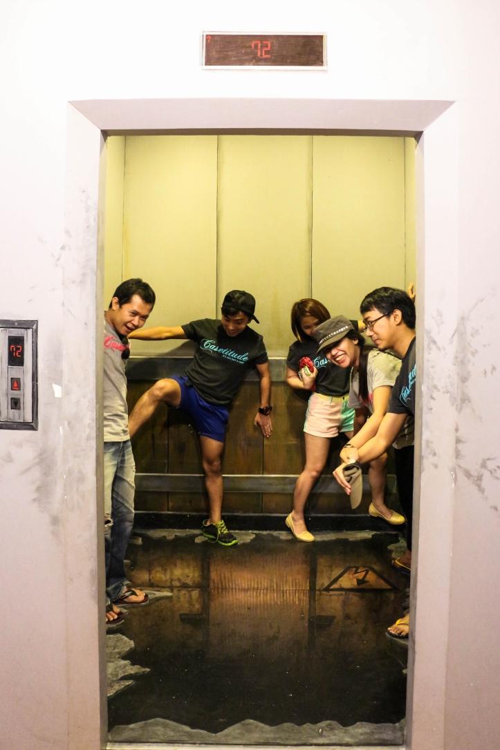 illusion elevator