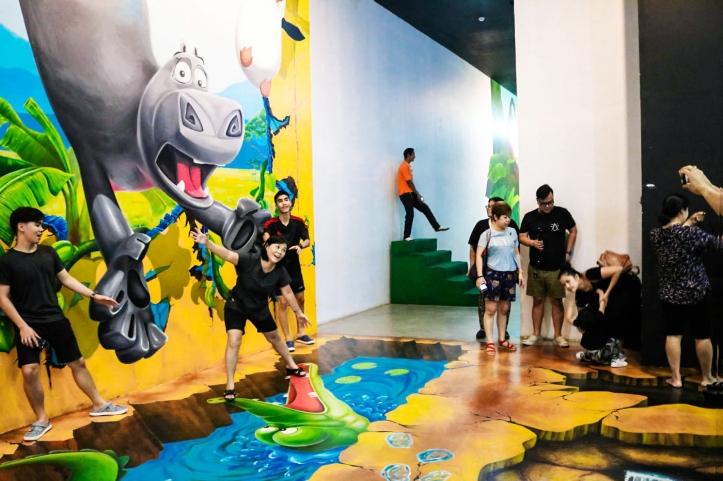 ภาพบรรยากาศช่วงปีใหม่ พิพิธภัณฑ์ภาพวาด 4 มิติ For Art's Sake