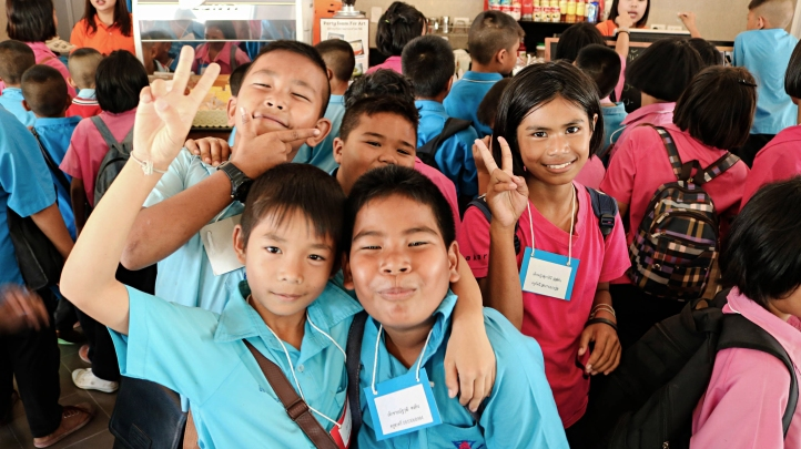 Visual Education @HUA HIN : Anuban ThapSakae School visiting For Art's Sake 4D Art Museum.