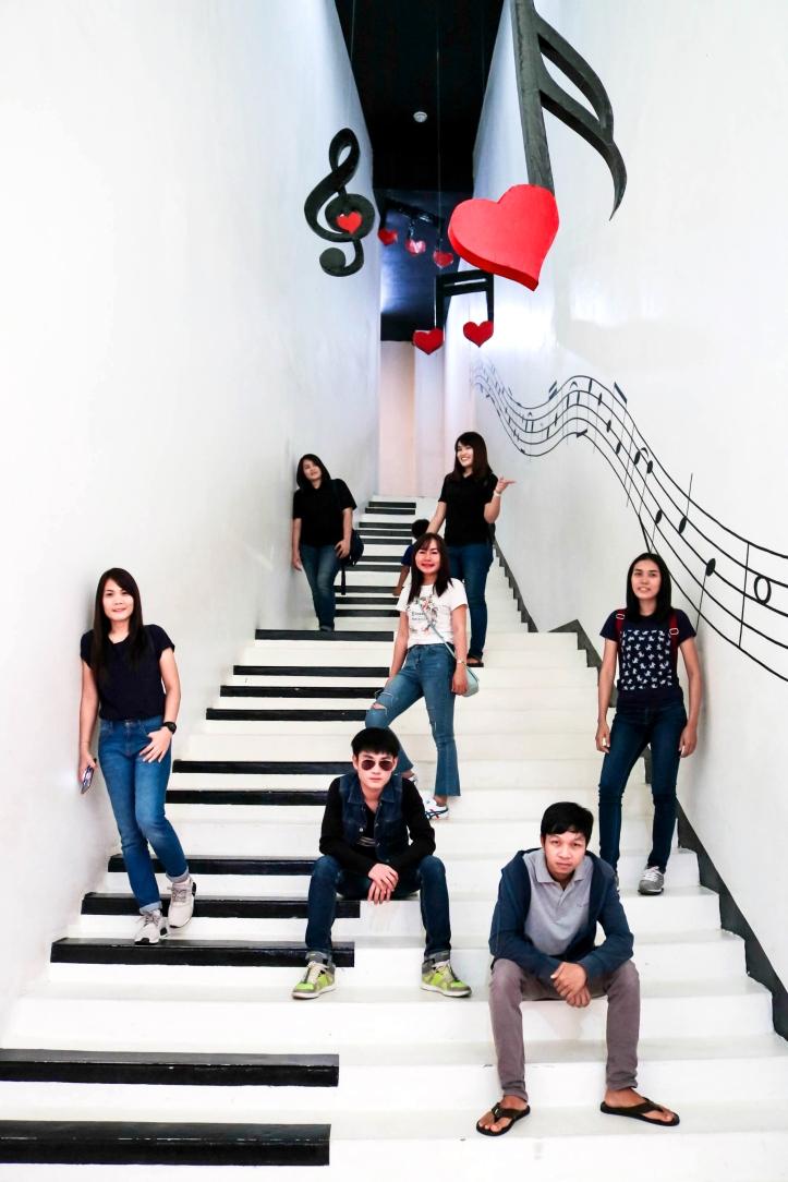 Piano Stair มุม Celeb 💋