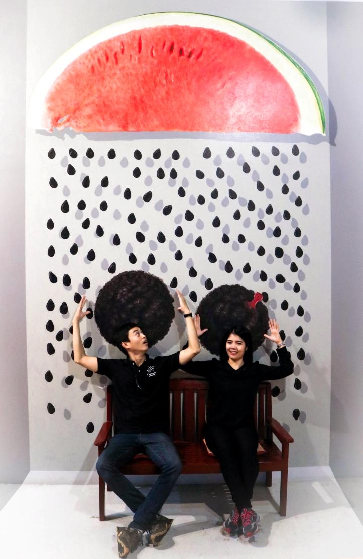 ฝนเมล็ดแตงโม